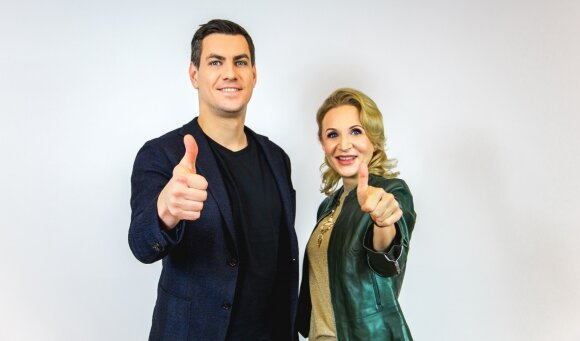Gabija Skučaitė ir Justinas Jankevičius FOTO: Eimantas Paulauskas