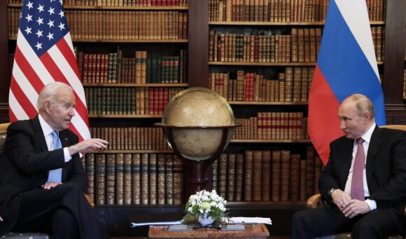Joe Bidenas, Vladimiras Putinas