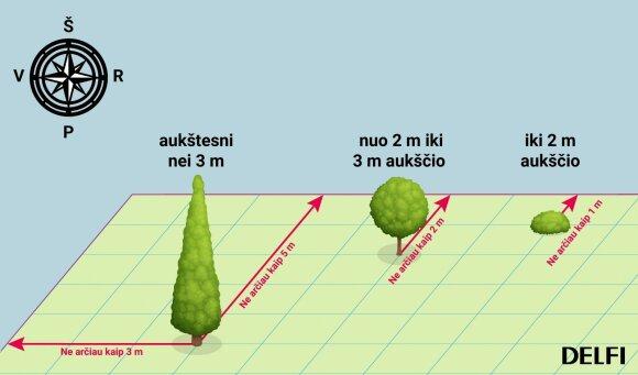 Augalų sodinimo pakeitimai