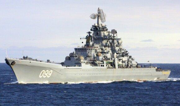 Nerimauja dėl į Baltijos jūrą siunčiamo Rusijos branduolinio milžino: labiausiai gąsdina ne dydis