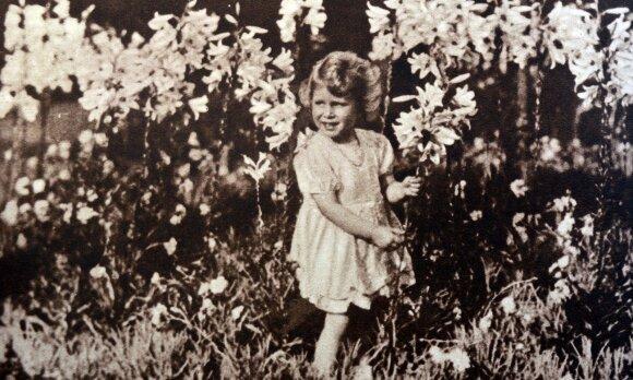 Karalienė Elizabeth II vaikystėje