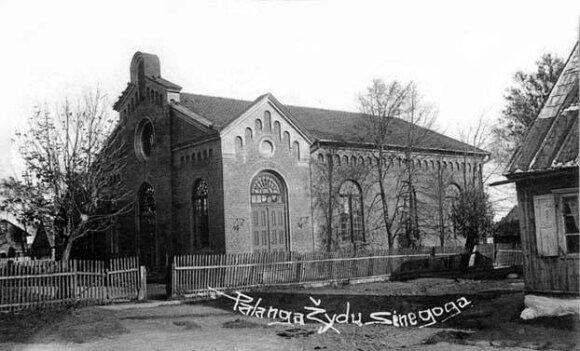 Синагога в Паланге. Архивное фото.
