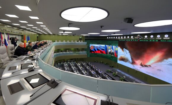"""Rusijos hipersoninė sistema """"Avangard"""""""