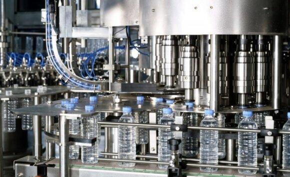 Plastiko butelių gamykla