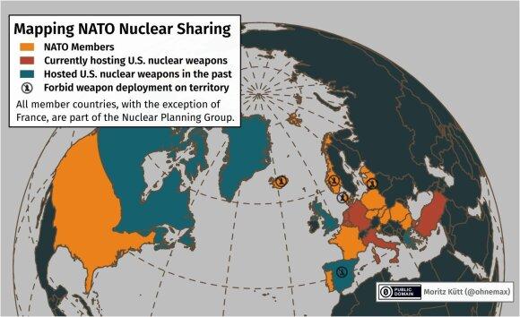 JAV branduoliniai ginklai Europoje vėl skelia žiežirbas: kaip tai atsilieps Lietuvai