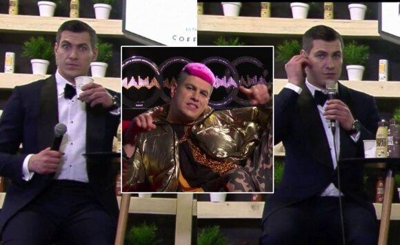 M.A.M.A apdovanojimų akimirka / Foto: TV3 stopkadrai