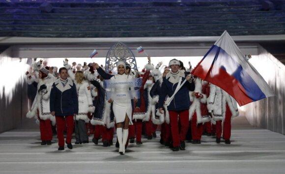 Rusijos sportininkai