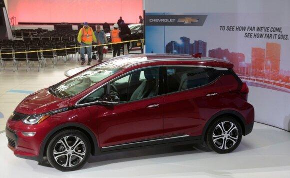 "Elektromobilis ""Chevrolet Bolt"""