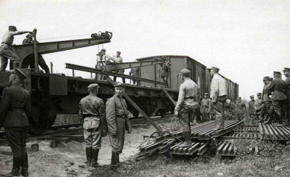 Inžinierinio dalinio kariai 1930 m.
