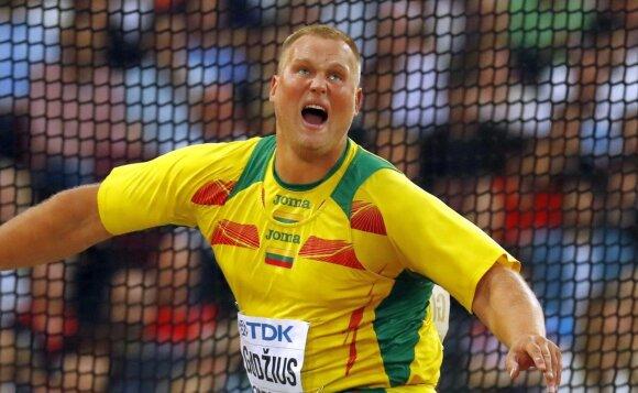 A. Gudžiaus treneris V. Kidykas – apie auklėtinio savybes, dopingą, premijas ir traumos indėlį į sėkmę