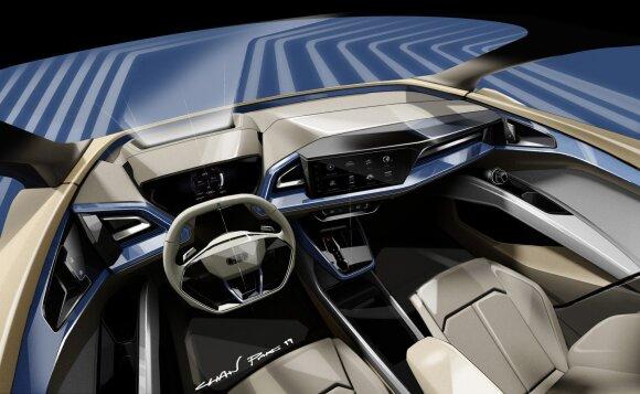 """Audi Q4 e-tron"""