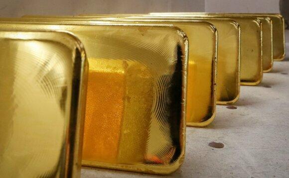 Kiek pasaulyje liko neiškasto aukso?