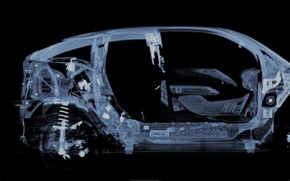 BMW naudoja kompiuterinę tomografiją