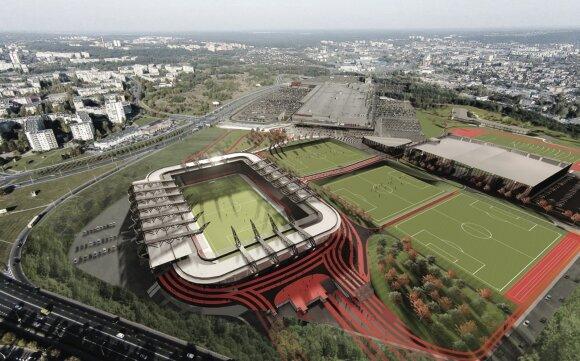 Nacionalinio stadiono vizualizacija