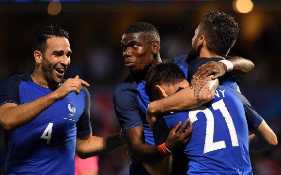 Prancūzijos futbolo rinktinė