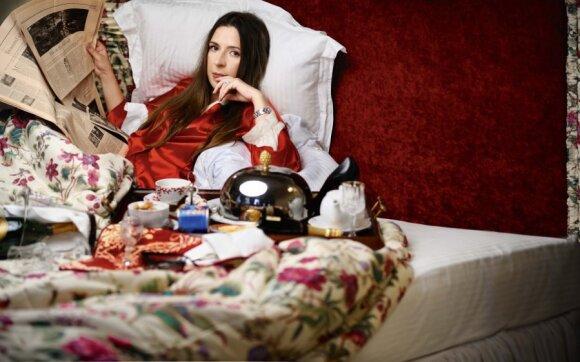 """Dabar vienas didžiausių gyvenimo malonumų man – nebūti """"prisijungus"""", - Kristina Sabaliauskaitė"""