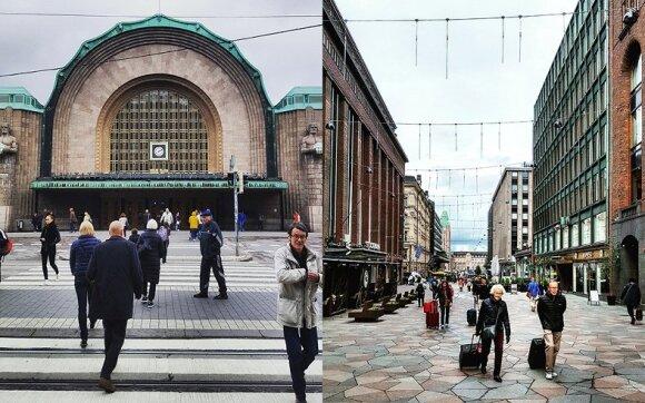 Helsinkio traukinių stotis, asm. archyv. nuotr.