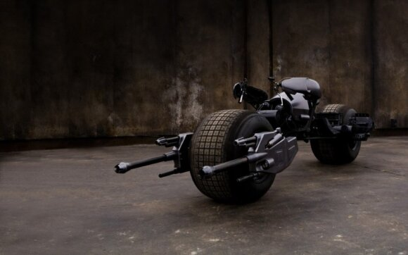 Batpod motociklo koncepcija