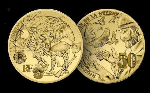 """Sąžiningai išgauto aukso moneta // """"Samlerhuset Group"""" nuotr."""
