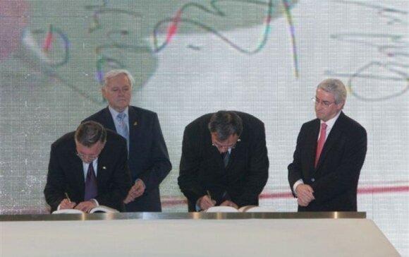 Lisabonos sutarties pasirašymas