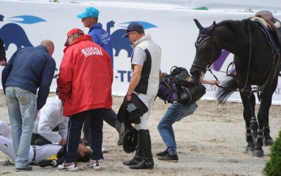 Benas Gutkauskas patyrė traumą per varžybas