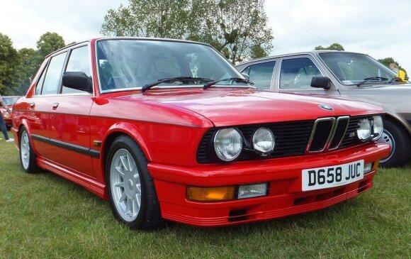 """BMW E28"" – Ryklys. Foshie/Flickr nuotr."