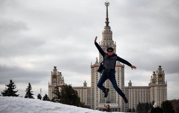Stebisi prestižinio Rusijos universiteto pareiškimu: tai – piktas pokštas?