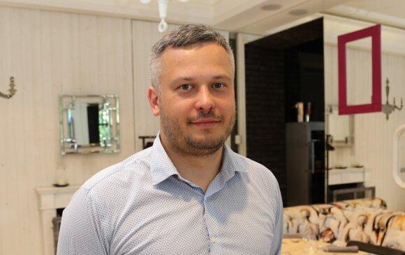 Lietuvos someljė asociacijos prezidentas Arminas Darasevičius