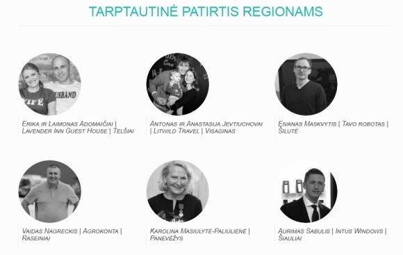 """Paskelbti kasmetinių """"Globalios Lietuvos apdovanojimų"""" nominantai"""