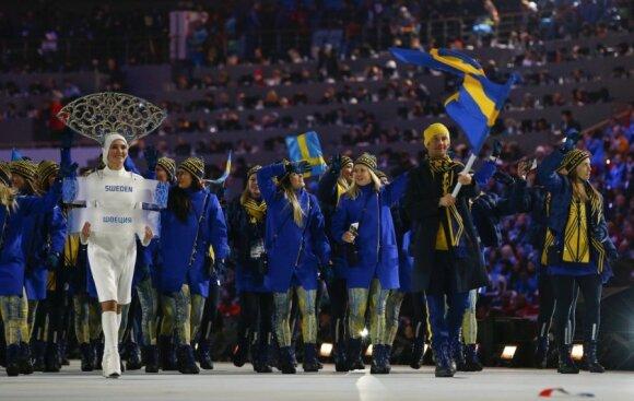 Švedijos sportininkai