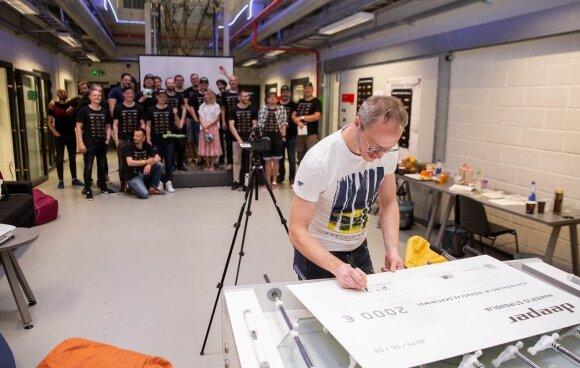 Pirmoji Lietuvoje <em>makerių</em> stipendija skatins studentus įgyvendinti beprotiškiausias idėjas