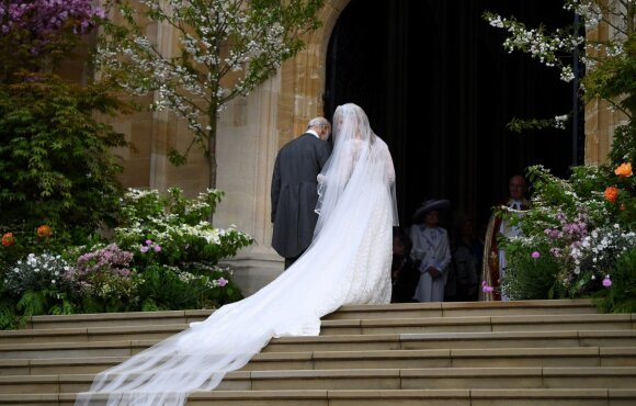 Vindzoro pilyje – ledi Gabriellos Windsor vestuvės