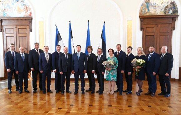 Estijos vyriausybė