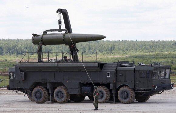 """Raketų paleidimo sistema """"Iskander"""""""
