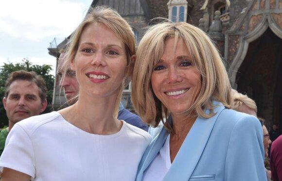 Brigitte Macron su dukra Tiphaine Auziere