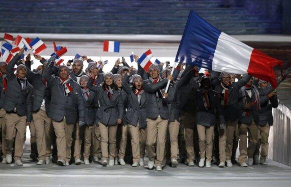 Prancūzijos sportininkai