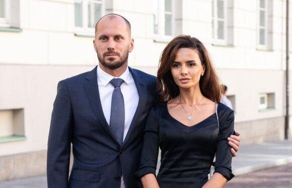 Justinas Kinderis ir Rena Saribekian