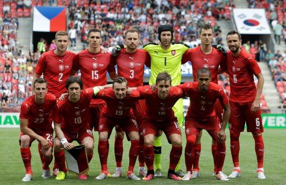 Čekijos futbolo rinktinė