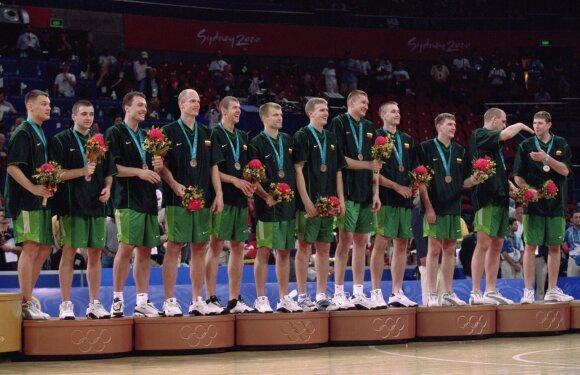 Lietuvos vyrų krepšinio rinktinė (2000 m.)