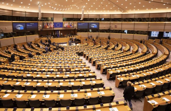 Europos Parlamente – pirmasis patvirtintas koronaviruso atvejis