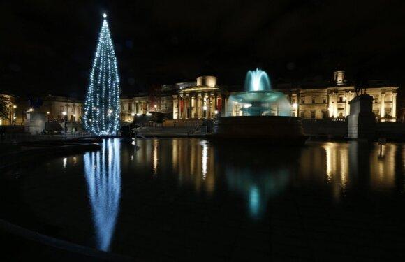 Kalėdų eglutė Londone, Didžioji Britanija