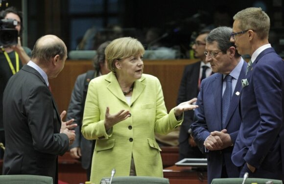 Angela Merkel Briuselyje