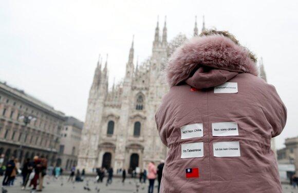 Italijoje sparčiai plintant koronavirusui, Europa ruošiasi pasekmėms