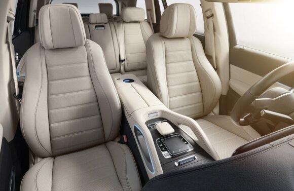 """""""Mercedes-Benz GLS"""" visureigis"""