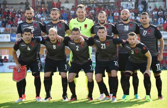 Albanijos futbolo rinktinė