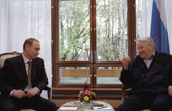 Vladimiras Putinas, Borisas Jelcinas