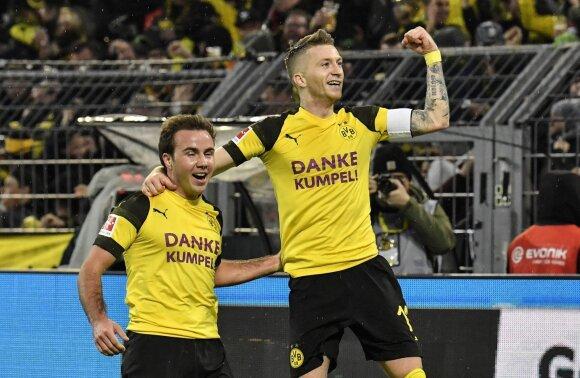 Marco Reusas (dešinėje) ir Mario Goetze