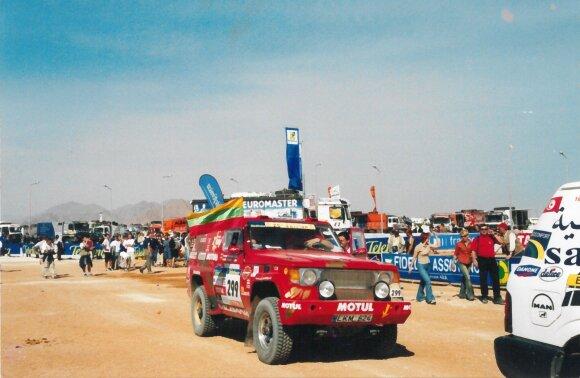 Juknevičius papasakojo, kur iš Dakaro trasų dingo kopos