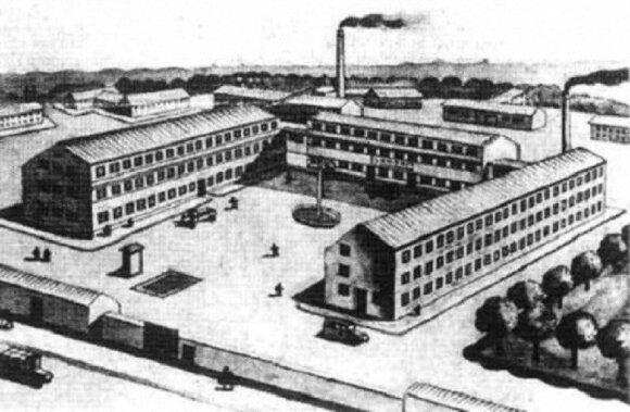 """1936 m. """"Elektrit"""" gamykla"""