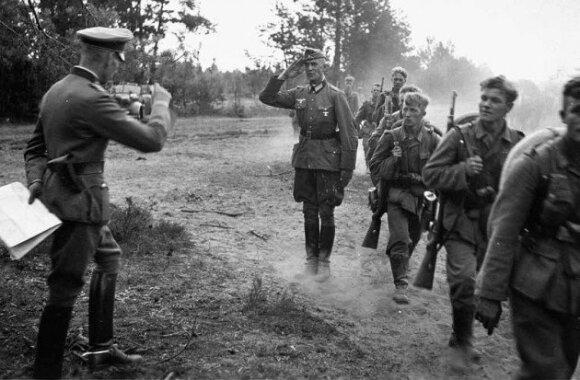 """Operacijos """"Barbarossa"""" pradžia. Vokiečių karo mašina pajuda į Rytus."""